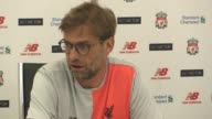 Press conference with Liverpool manager Jurgen Klopp ahead of the game against Man City He gives an injury update saying captain Jordan Henderson is...