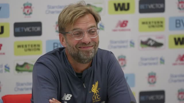 Press conference with Liverpool manager Jurgen Klopp ahead of the game against Arsenal He gives his reaction to their Champions League group draw...