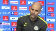 Press conference with Manchester City manager Pep Guardiola ahead of the FA Cup game away to Middlesbrough He talks about winning Manager of the...