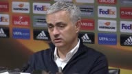 Press conference with Manchester United manager Jose Mourinho ahead of the game away to Burnley He says the team are facing a defensive crisis says...