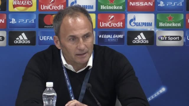 Press conference with Maribor manager Dario Milanic following their 30 Champions League defeat to Liverpool He talks about his side's second half...