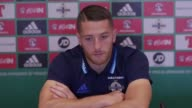 Press conference with Northern Ireland striker Conor Washington ahead of the game against San Marino He talks about being back in the fold after...
