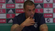 Press conference with Northern Ireland striker Josh Magennis ahead of the game against the Czech Republic He talks about the qualification campaign...