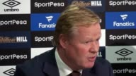Press conference with the new Everton signing Gylfi Sigurdsson and Everton boss Ronald Koeman