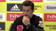 Press conference with Watford head coach Marco Silva ahead of their match at Bournemouth on Saturday