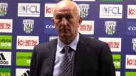Press conference with West Brom manager Tony Pulis after his side's 10 defeat to Chelsea at home The result saw Antonio Conte's men crowned Premier...