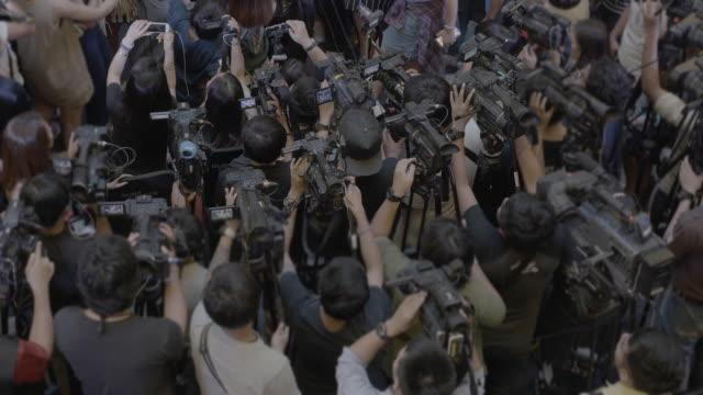Pressefotografen.