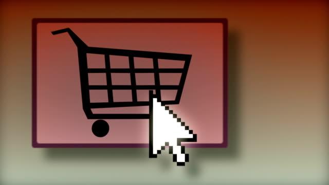 Pressing the shopping cart button