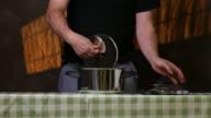 Pressure cooker.