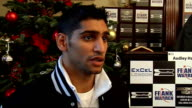 Preview of 6th December bill at London ExCeL Khan interview SOT Knows mistakes he made in last fight / Going back to his old style and instincts now...