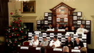 Preview of 6th December bill at London ExCeL Wide shot of press conference Fagan press conference SOT Believes Khan will bounce back / Big fan of...
