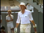 Preview of England vs New Zealand test match Ian Botham fitness London Lords MS BOTHAM batting in practice net / MS BOTHAM obscured by other players...