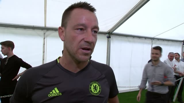 Preview of FA Cup Final between Arsenal and Chelsea 2452017 John Terry interview SOT Fully focussed on winning the game first and foremost / it's a...