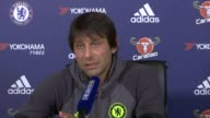 Preview of Premier League matches Preview of Premier League matches Surrey Cobham Antonio Conte press conference SOT There are 14 games to play there...