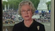 Preview of Queen Elizabeth II's 90th birthday Tony Blair interview LIB INT Queen Elizabeth II address to the nation SOT what I say to you now as your...