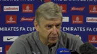 Preview press conference with Arsene Wenger ahead of Arsenal's trip to Southampton in the FA Cup
