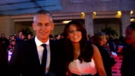 Arrivals and backstage interviews Gary Lineker red carpet interview SOT/ Mel B red carpet interview SOT/ Emma Bunton photocall on red carpet/...