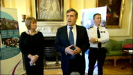 Prime Minister and Home Secretary meet with police for first anniversary of neighbourhood policing Gordon Brown MP speech SOT I think we do not thank...