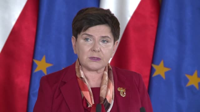 Prime Minister Beata Szydlo on Thursday said Poland would not be following Britain's example and leaving the European Union but criticised what she...