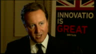Prime minister David Cameron in New York for United Nations meeting Interview USA New York INT David Cameron interview SOT Why are you here we have a...