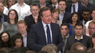 Prime Minister David Cameron saying he owns no shares and has no offshore funds after the Panama papers leak