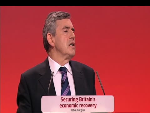 Prime Minister Gordon Brown claims that 'vast majority of Labour MPs in Parliament not out of self interest but of public interest' during annual...