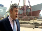 Prime Minister Gordon Brown comments on responsibility of government to
