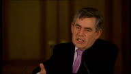 Prime Minister Gordon Brown gives monthly press conference Question SOT Obviously knife crime is a very important issue for our listeners and we have...