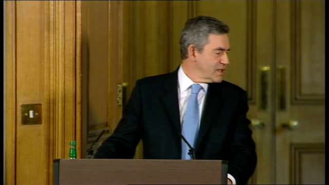 Prime Minister Gordon Brown holds monthly press conference Question Talks of money promised to Uganda in light of President ordering a new 50 million...