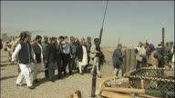 Prime Minister Gordon Brown meets local government officials in Afghanistan 6 March 2010