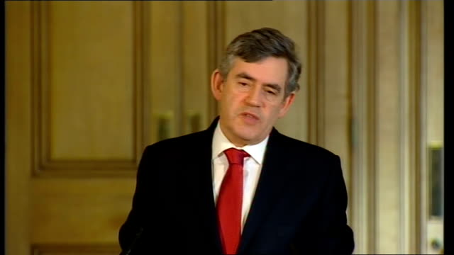 Prime Minister Gordon Brown monthly press conference Question Do you share the overoptimistic view that there will be a Palestinian state this year...