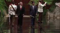 Prime Minister Shinzo Abe arrived in Cuba on Thursday for the first visit to the country by a Japanese premier saying he wants to open a new page in...