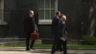 Prime Minister urges Cabinet to show 'strength and unity' after damaging leaks ENGLAND London Downing Street Michael Gove MP James Brokenshire MP and...