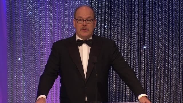 SPEECH Prince Albert II of Monaco at 2017 Princess Grace Awards Gala With Presenting Sponsor Christian Dior Couture at The Beverly Hilton Hotel on...
