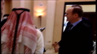 Prince Albert of Monaco chatting to sales officer PAN Prince Albert of Monaco interview SOT I have to be on my way/ How can you not find it...