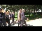 Prince Albert of Monaco visits the ThyssenBornemisza Museum