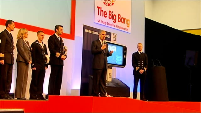 Prince Andrew attends student event at ExCel Centre in London Prince Andrew along to stage with others Prince Andrew speech SOT Royal Navy and I go...