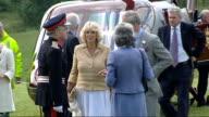 Prince Charles and Camilla summer tour of Wales Aberglasney Gardens visit WALES Carmarthenshire Llangathen Aberglasney Gardens PHOTOGRAPHY *** Royal...