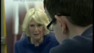 Prince Charles and Duchess of Cornwall visit Hull Camilla presents 100 word writing competition awards at The Deep Prince Charles and Duchess of...