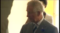 Prince Charles and Duchess of Cornwall visit The Prince's Trust Chatham Centre Charles and Camilla applauding SOT / Camilla chatting to young people...