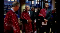 Prince Charles attends an exhibition of Pakistani textile crafts Women watching as Dr Sono Khangharani makes speech SOT / Charles / Dr Sono...