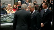 Prince Charles attends memorial service for 16 men killed in North Sea helicopter crash SCOTLAND Aberdeen EXT Prince Charles and Camilla arriving for...