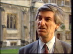 paintings unveiled ITN ENGLAND London Westminster Ext Vernon Bogdanor interview SOT In the past members of royal family have been accused of mixing...