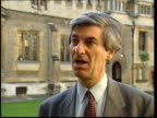 paintings unveiled ITN London Westminster Vernon Bogdanor interview SOT requires no act of parliament it is automatic/ it is purely symbolic role/...