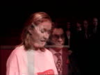 Part 2 The Queen praises the Prince's Trust T01119902 ENGLAND London Buckingham Palace INT Stage set for presentation of Royal Charter to the...
