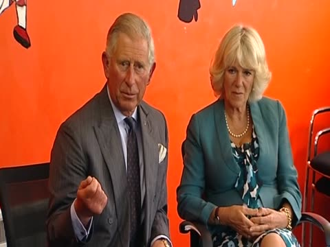 Prince Charles discusses the problem of gangs with youth leaders following the London riots August 2011