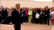 Prince Charles lays first wreath at the National Memorial Arboretum Prince Charles laying wreath of poppies at Armed Forces Memorial / Other...