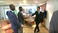 Prince Charles letters to ministers published INT Prince Charles being led into store by Anthony McPartlin [One half of Ant and Dec double act]...