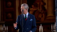 Prince Charles reception for the British Army Antarctic Expedition EXCERPT from Prince Charles speech SOT finally a word of thanks to organisers of...