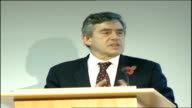 Prince Charles speech / Gordon Brown Social Responsibility Summit speeches Gordon Brown MP speech SOT In welcoming you all to today's summit here in...